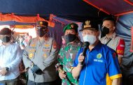 Gubernur Bengkulu bersama Forkopimda Tinjau Lokasi Vaksinasi di Pasar Panorama