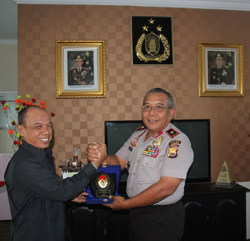Watannas Kunjungi Polda Bengkulu