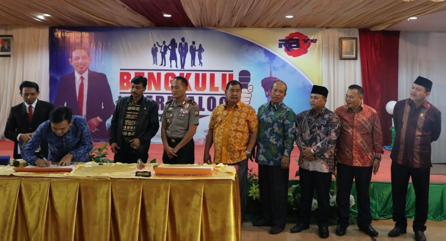 Program Kapolda Bengkulu di Dukung Pemda dan DPRD se-Provinsi Bengkulu