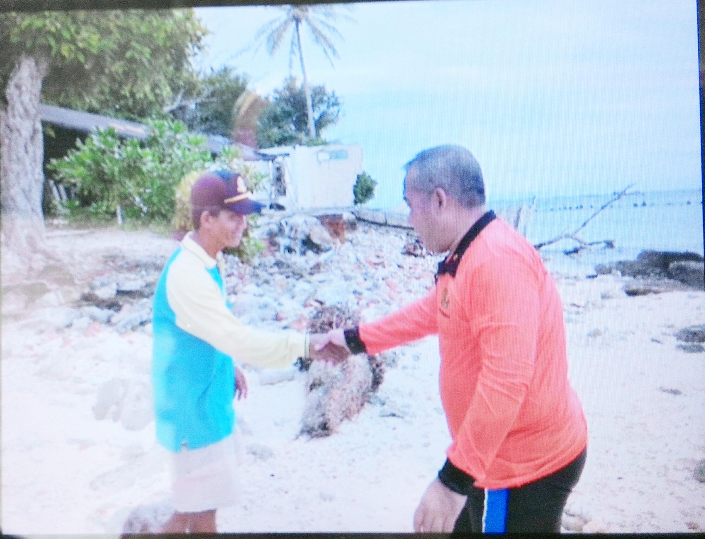 Kapolda Cek Pos Pengamanan Pulau Tikus