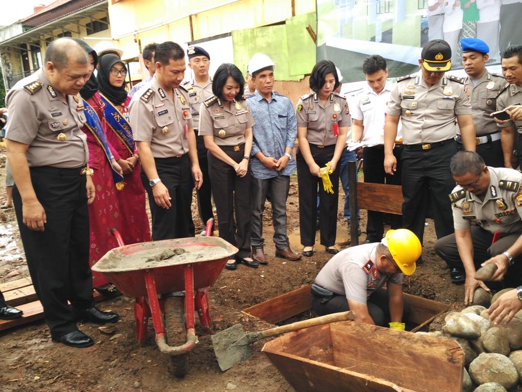 Tingkatkan Pelayanan Kepada Masyarakat, Rumkit Bhayangkara Bangun Gedung