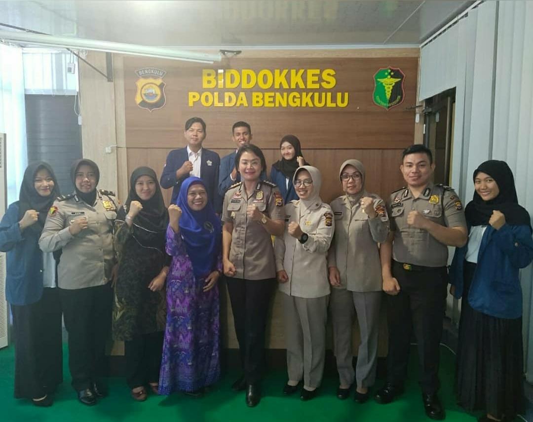 Biddokkes Polda Bengkulu Jadi Wahana Bagi Mahasiswa MIPA Universitas Bengkulu