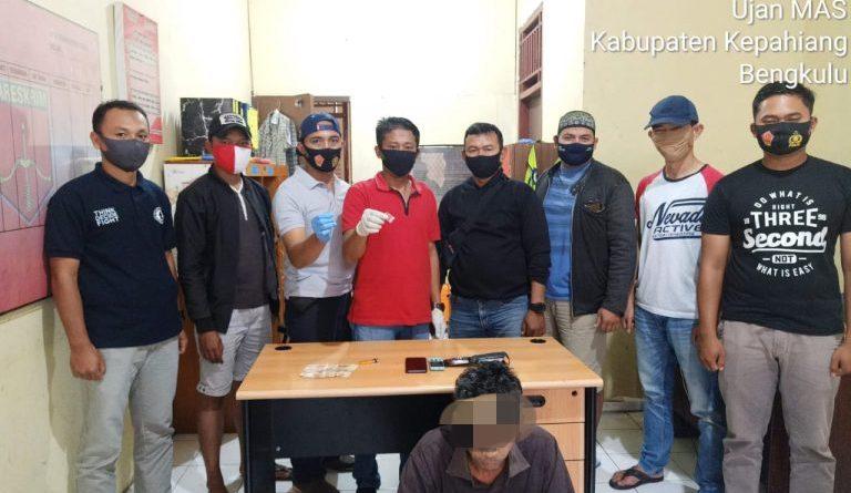 Terbukti Kuasai Sabu, Warga Desa Karang Anyar Ditangkap Polisi