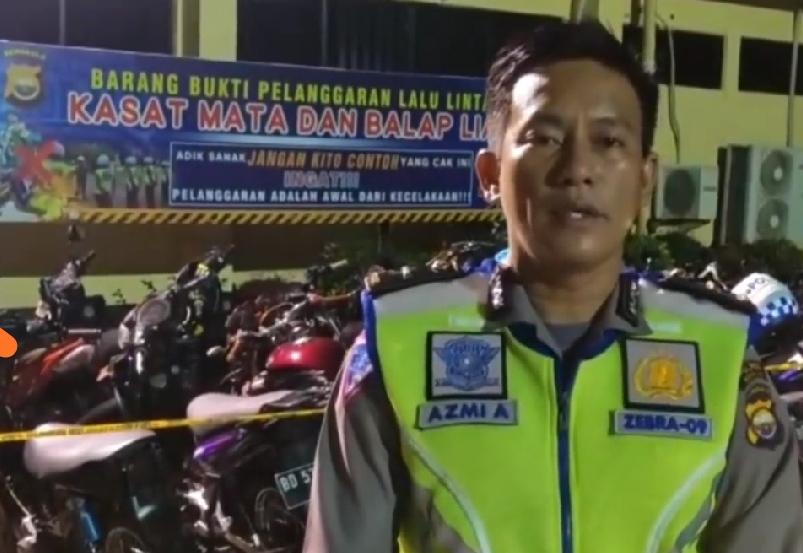 Balap Liar di Jalan Pariwisata, Polres Bengkulu Amankan 14 R2