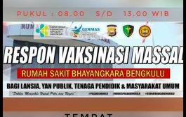 RS Bhayangkara Laksanakan Vaksin Masal Gratis di Megamall, Cek Waktu dan Tanggalnya!