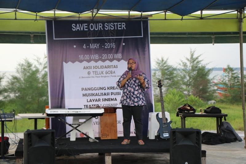Duta Humas Ikut Dalam Aksi Save Our Sister