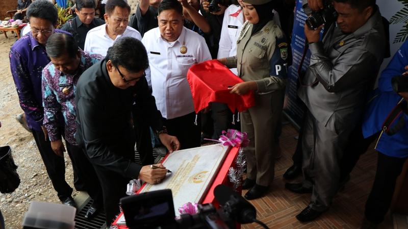 MenDagri Resmikan Gedung Satpol PP Prov. Bengkulu