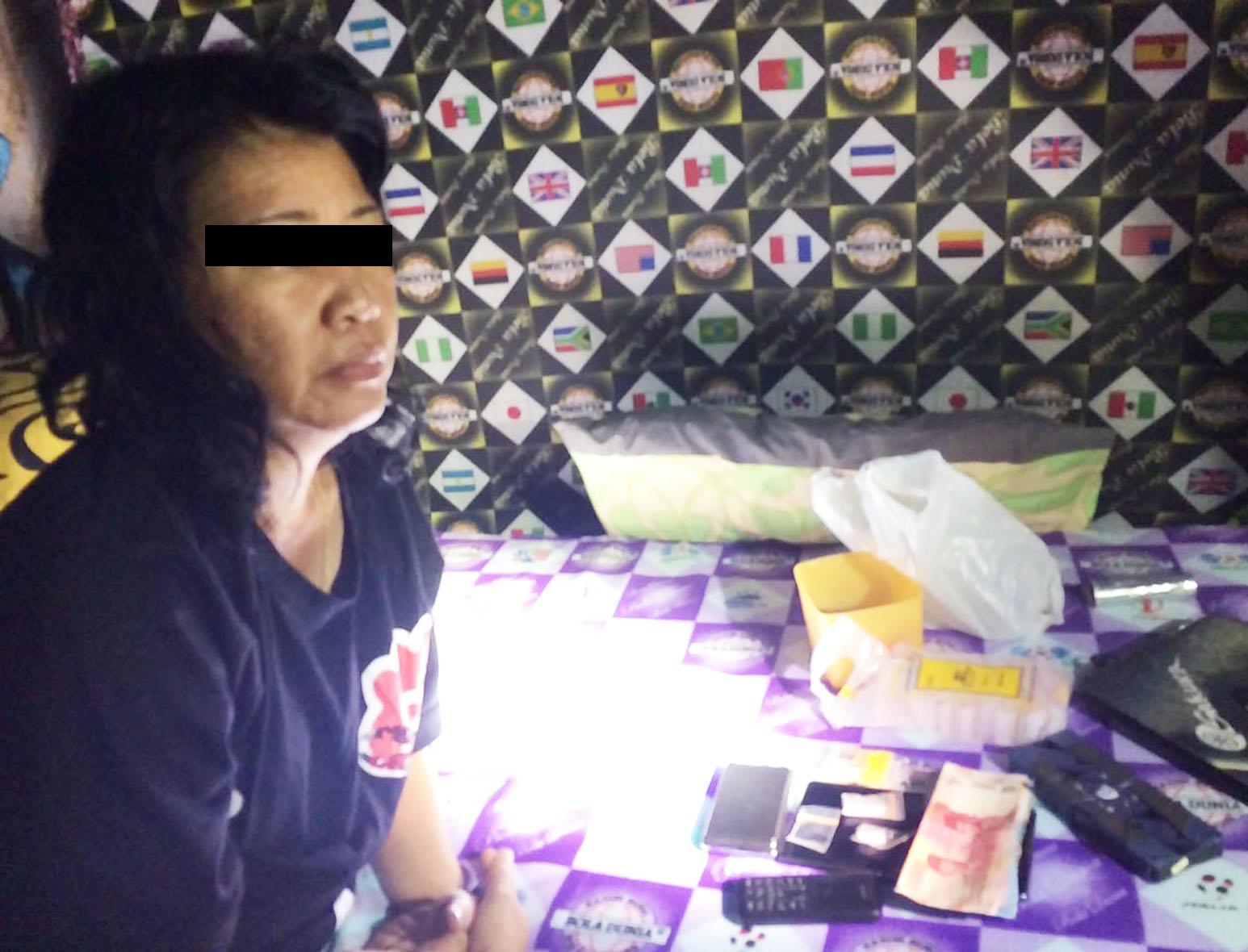 Edar Sabu, IRT  di tangkap Polres Kepahiang