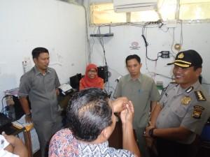 Karo Ops Polda Bengkulu Pantau KPU Kabupaten Benteng