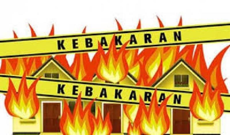 Diduga Korsleting Listrik, Gudang PT. MAS Terbakar