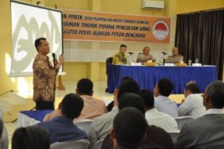 Polisi Dibekali Pengetahuan Soal TPPU