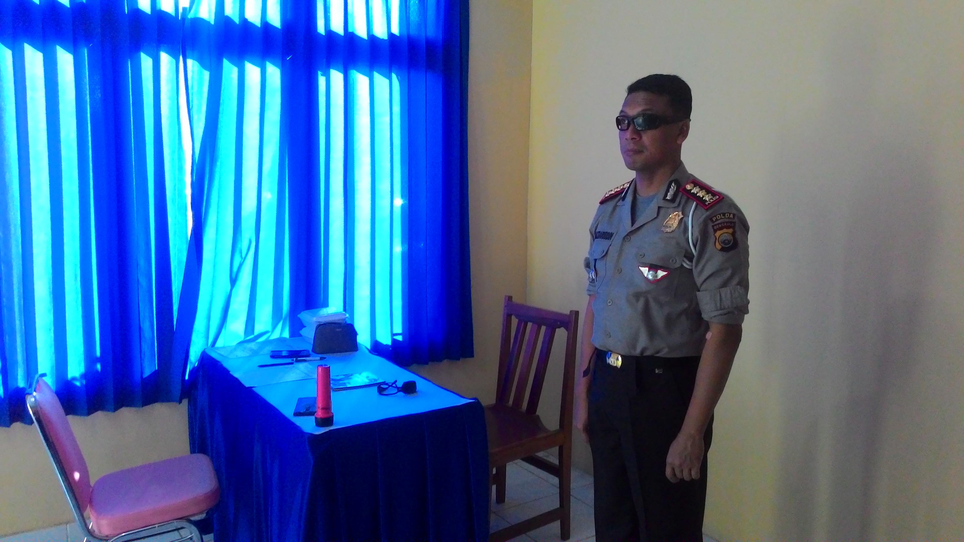 Rikkes Berkala, jaga kesehatan anggota Polda Bengkulu