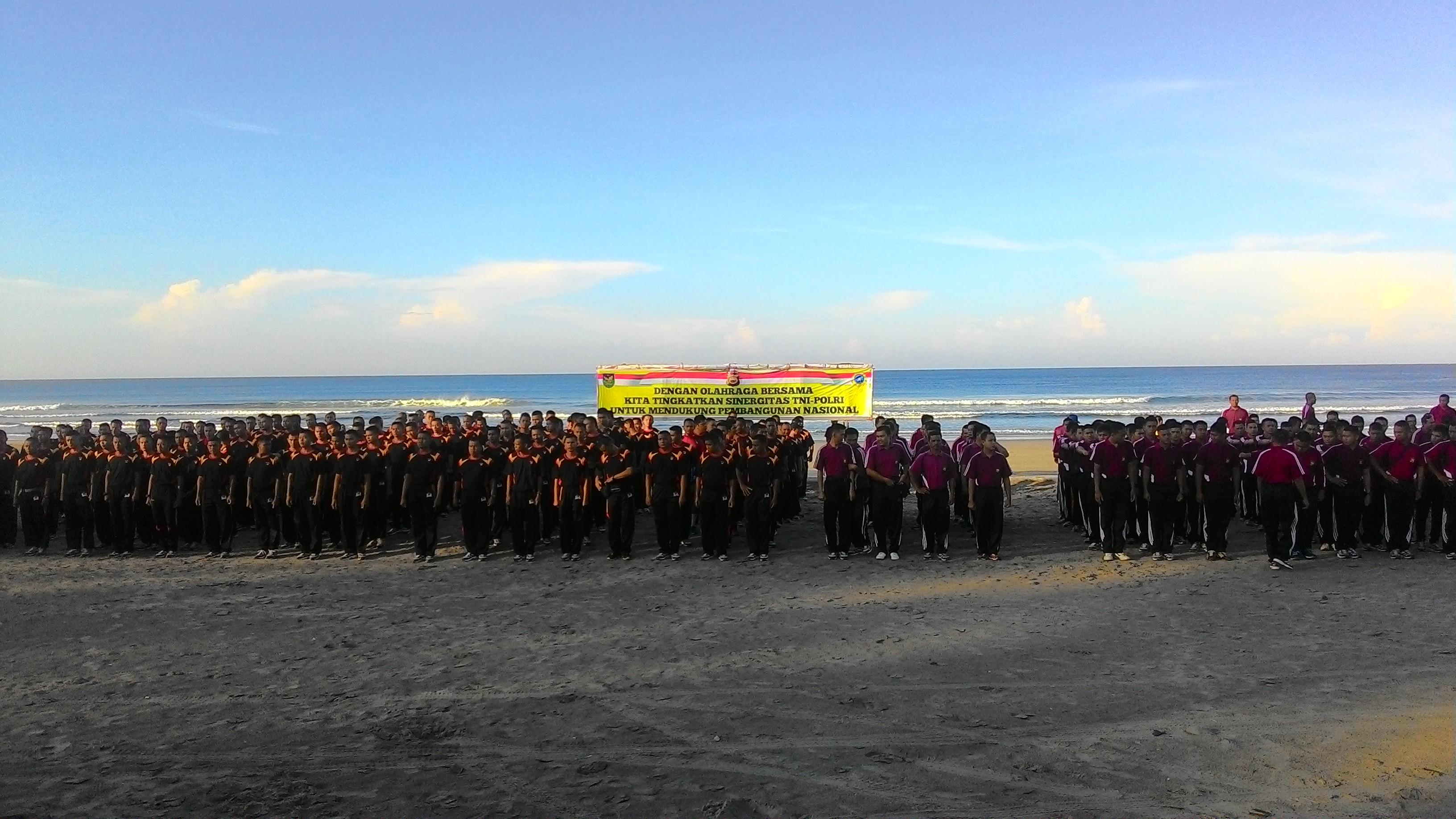 Sinergitas TNI-POLRI dukung pembangunan Nasional