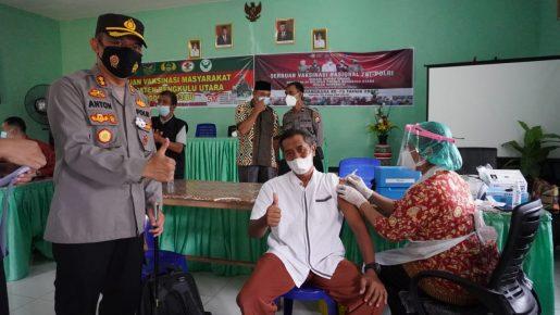 Antusiasme Masyarakat BU Ikuti Vaksinasi Massal Tinggi