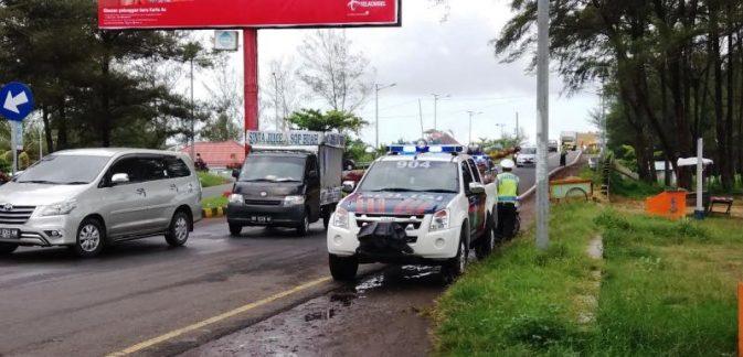 Polisi Razia Siswa Yang Konvoi Rayakan kelulusan