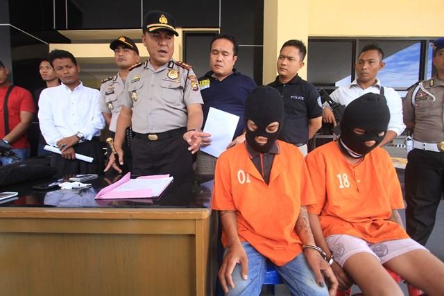 Polisi Bekuk 5 Bandit