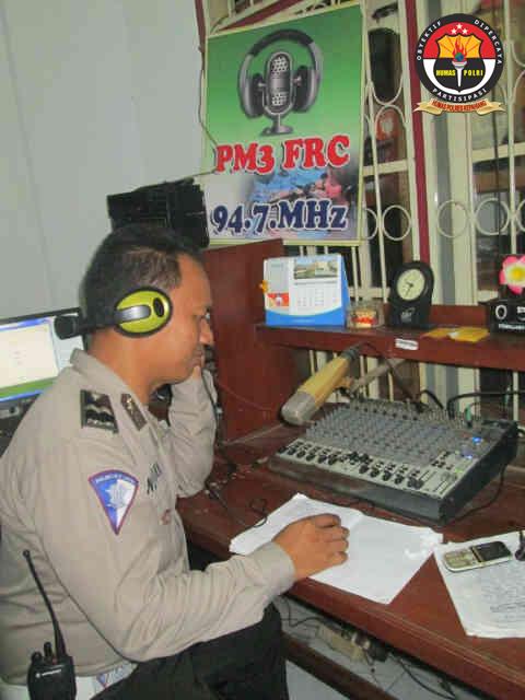 Polres Kepahiang Sosialisasikan Operasi Simpatik dan Dialog Interaktif Melalui Radio