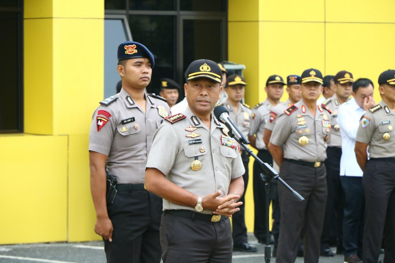 Wakapolda Bengkulu Ingatkan Anggota Jaga Prilaku Di Medsos