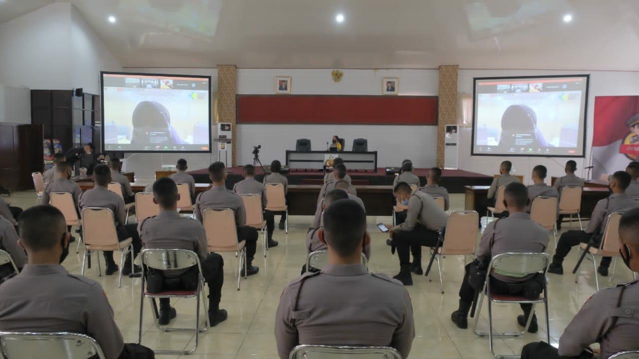Ikuti Pelatihan Tracer Covid-19, 65 Bintara Remaja Polda Bengkulu Siap Terjun ke Lapangan