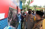 Kapolda Bengkulu Bersama Gubernur dan FKPD Cek Posko PPKM di Seluma dan BS