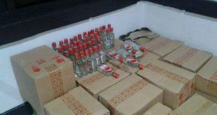 Ratusan Botol Miras Siap Edar Disita Polres BS