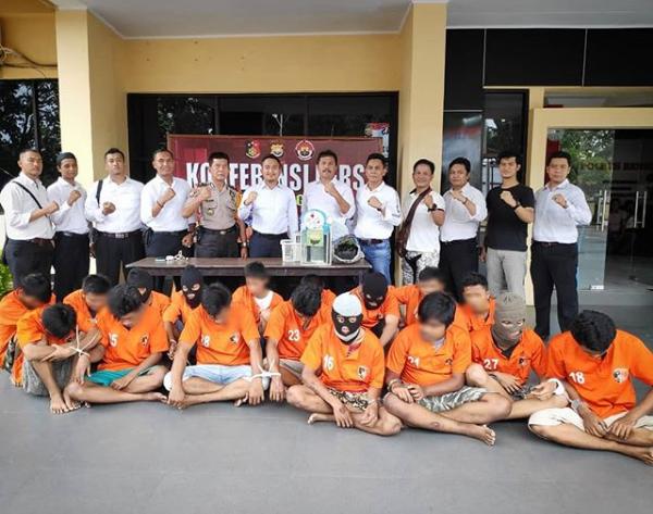7 Tsk Pencurian Spesialis Kos-kosan Diciduk Polres Kota Bengkulu