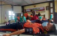 Sambut Hari Bhayangkara, Polres RL Gelar Donor Darah