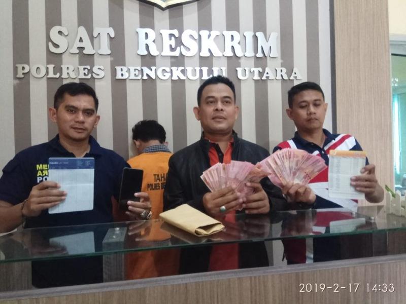 Polres BU OTT Kades Tanjung Alai