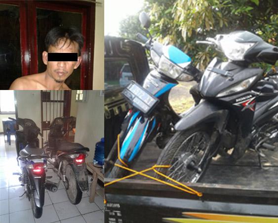 Pelaku Curanmor lintas Propinsi Di Bekuk