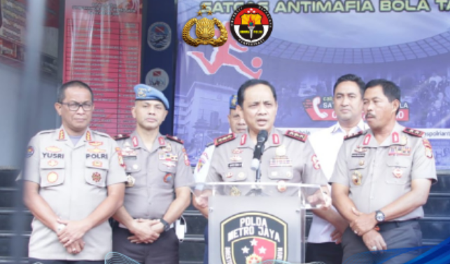 Wakapolri Tegaskan Satgas Anti Mafia Bola Siap Berantas Match Fixing di Indonesia