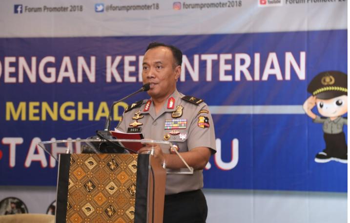 Cegah Penyelundupan Narkoba, Polri Perketat Keamanan di Perbatasan Indonesia