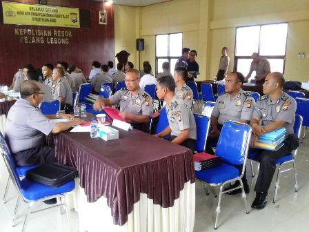 Polres Rejang Lebong dan SPN Bukit Kaba Diperiksa Tim Wasrik Itwasda Polda Bengkulu