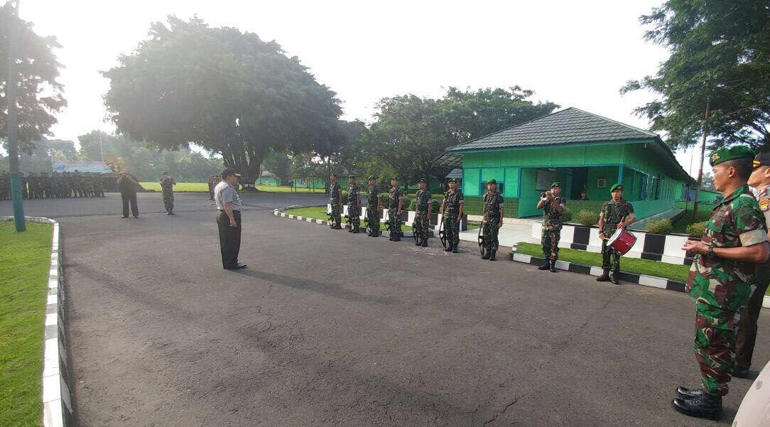 Sinergitas Kepolisian, Kapolda Bengkulu Kunjungi Batalyon 144 Jayayudha