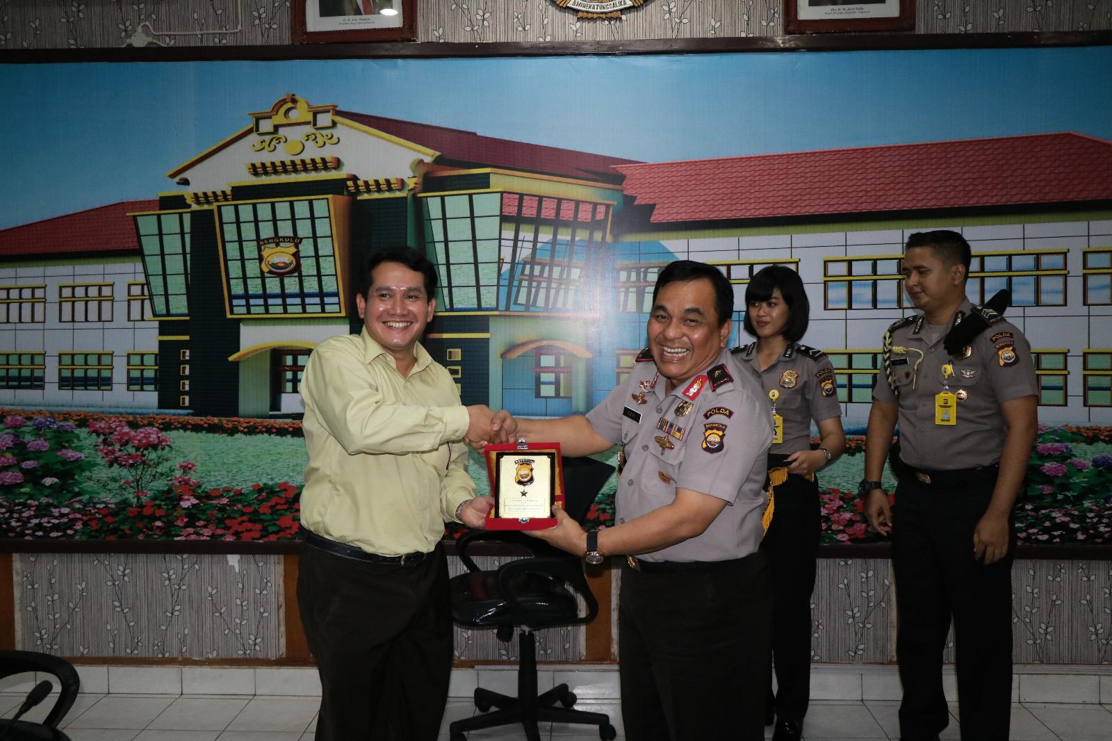 Kompolnas Kunjungi Polda Bengkulu