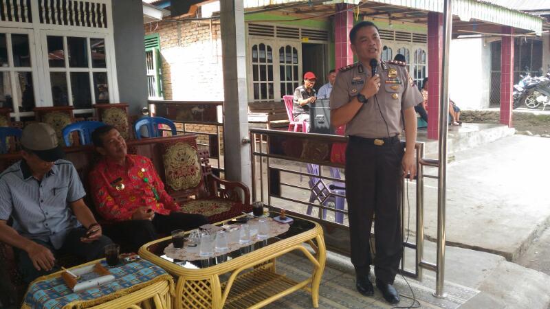 Sehari di Desa, Program Polres Rejang Lebong Serap Aspirasi Masyarakat