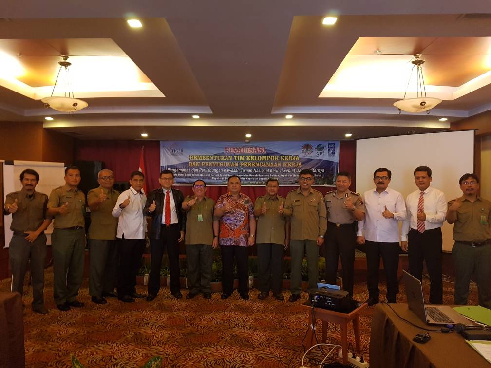Wakapolda Bengkulu : Kami Siap Back Up TNKS Berantas Perambah Hutan