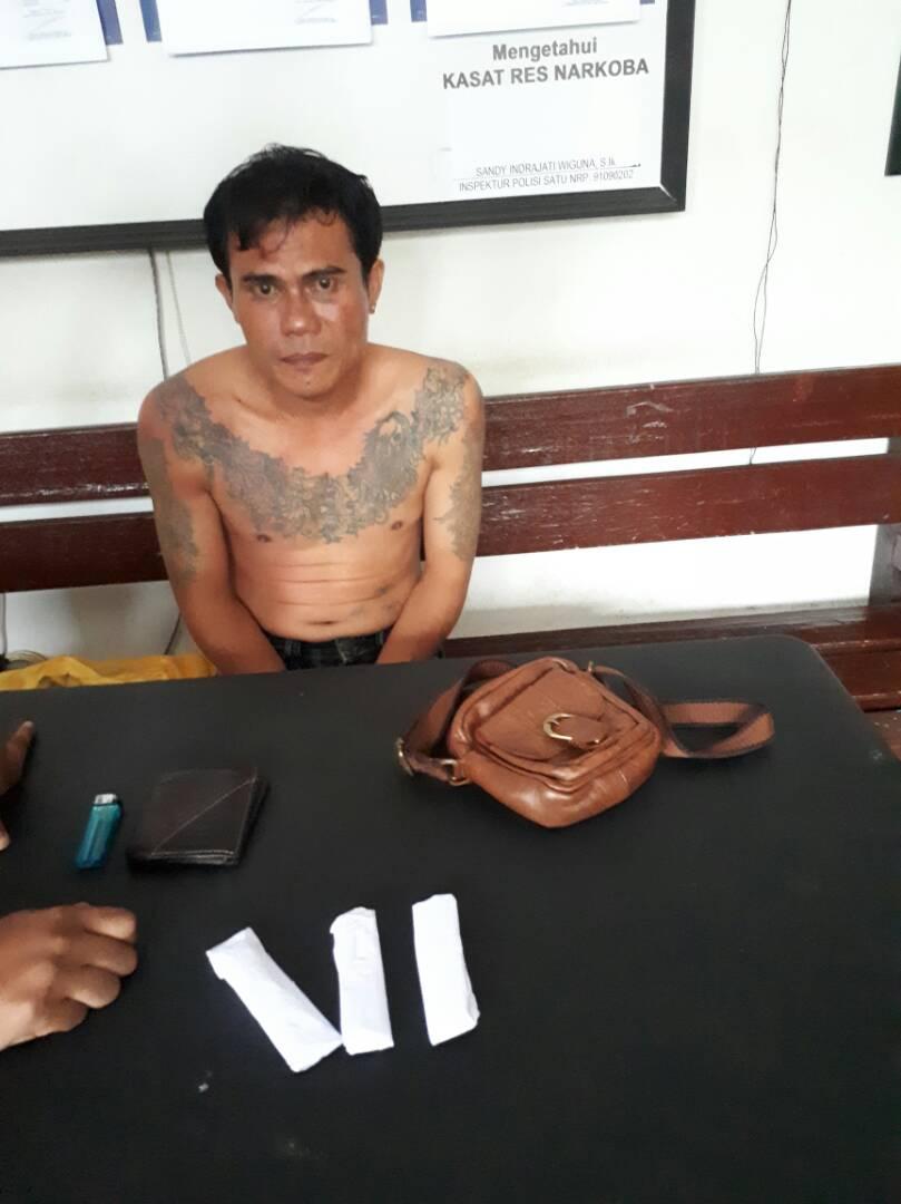 Edar Ganja, DPO BNNP Ditangkap Polres Bengkulu
