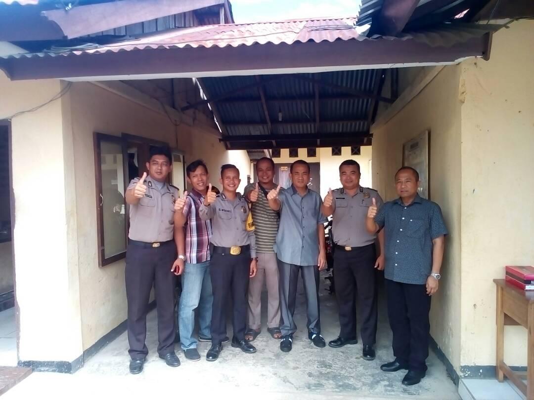 Kapolda Bengkulu Kunjungi Polsek Sukaraja