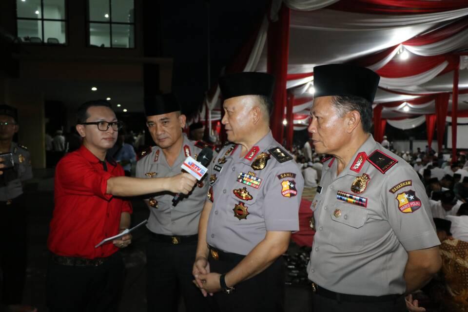 Safari Ramadan Mabes Polri : Kapolda Berharap Persekusi  Jangan Terjadi di Bengkulu