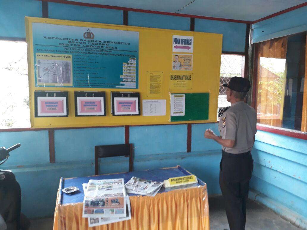 Polres Lebong Dirikan Pos Bhabinkamtibmas di Kantor Kelurahan dan Desa