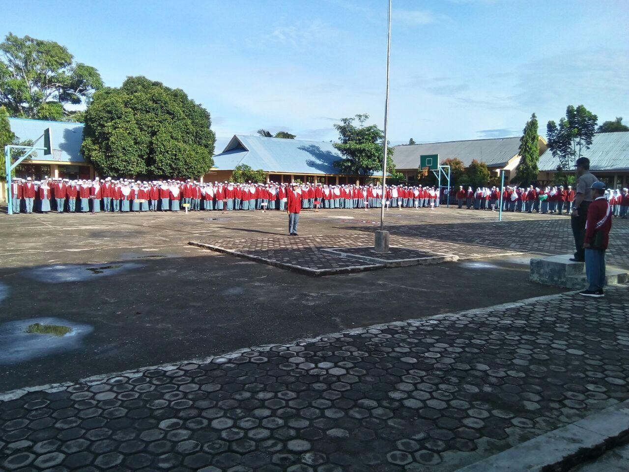 Upacara Bendera di Sekolah, Kasat Binmas Jadi Pembina