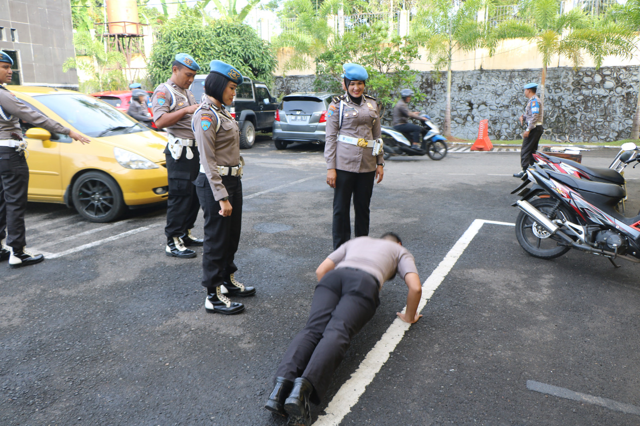 Polda Bengkulu Tertibkan Surat dan Kendaraan Anggota Polri