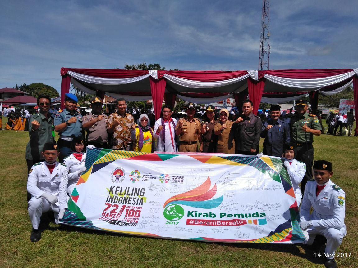 100 Personil Amankan Kirab Pemuda 2017