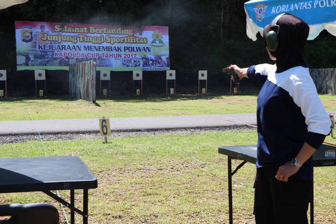 Kapolda Bengkulu; Kejuaraan Lomba Menembak Ajang Silaturahmi dan Asah Kemampuan