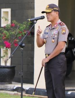 Arahan Kapolda Bengkulu Jelang Pengamanan Natal dan Tahun Baru 2018