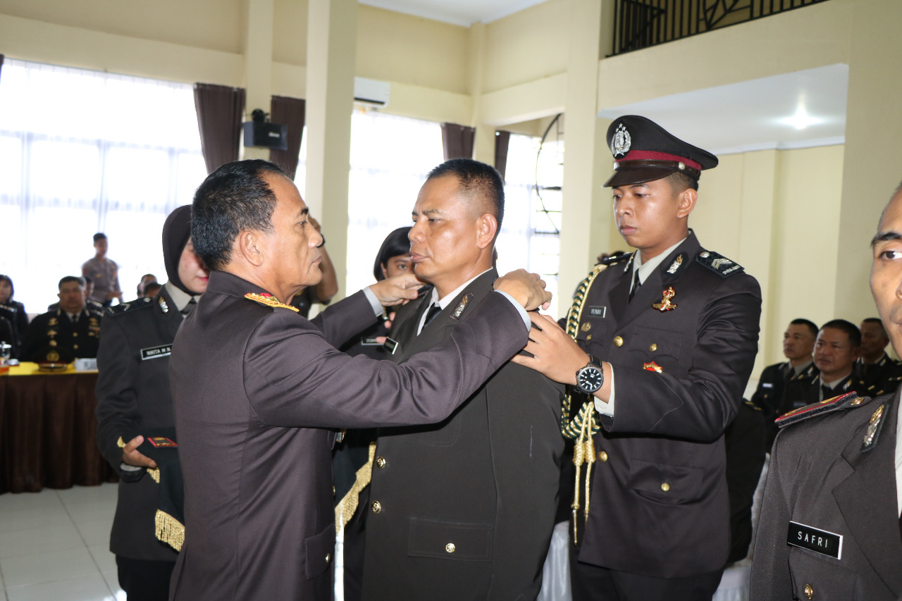 Upacara Penutupan Pendidikan dan Pelantikan PAG Polda Bengkulu