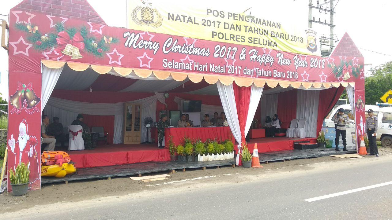 Wakapolda Bengkulu Kunjungi Pos Pam Sukaraja