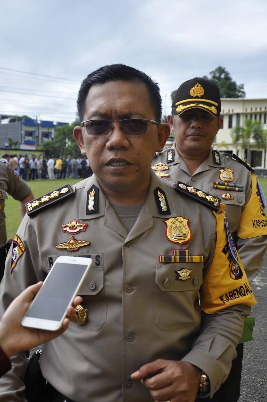 Optimalkan Pengamanan Ops Lilin Nala 2017, Polda Bengkulu Bentuk Satgas Bantuan