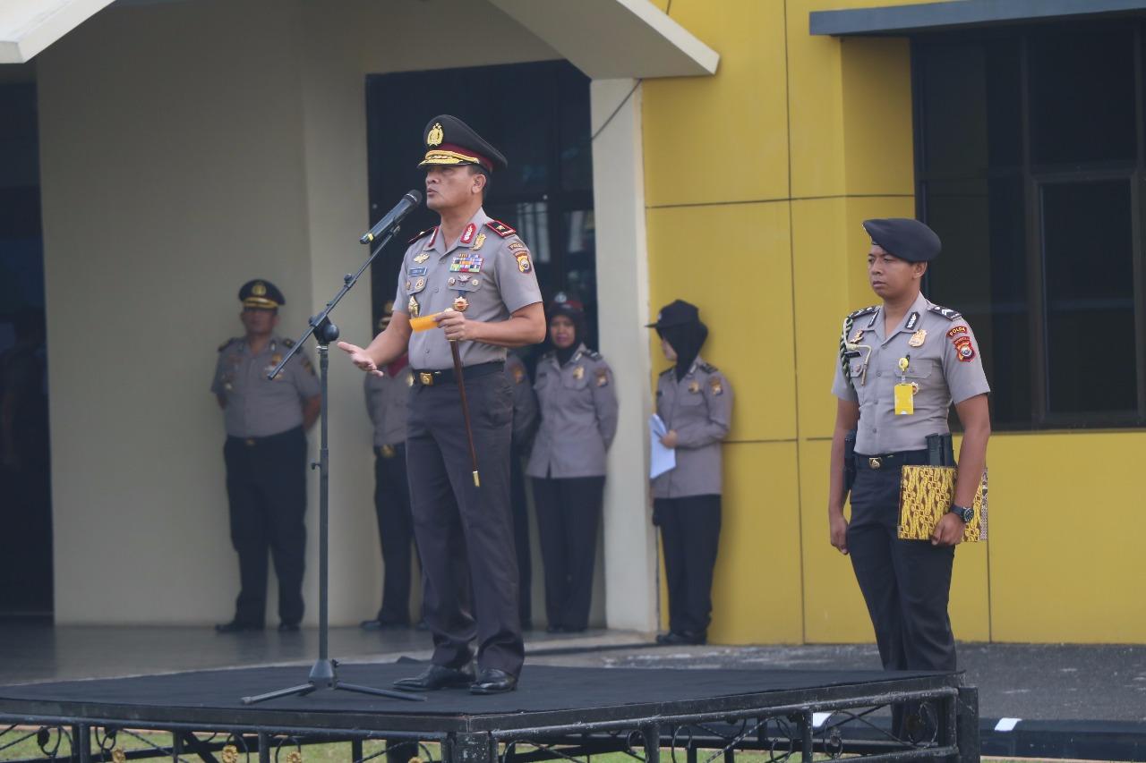 Kapolda Bengkulu; Anggota Harus Menjaga Postur Tubuh dan Penampilan
