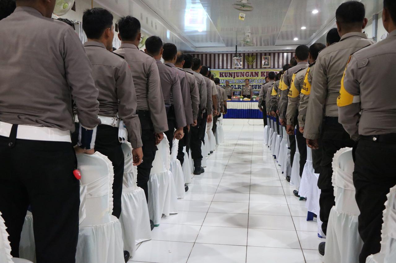 Bersama Rombongan, Kapolda Bengkulu Kunjungi Mukomuko